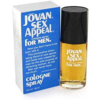 Jovan Sex Appeal Men's 3-ounce Cologne Spray