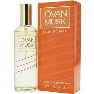 Jovan Musk Women's 3.25-ounce Cologne Spray