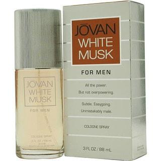 Jovan White Musk Men's 3-ounce Cologne Spray