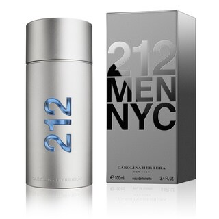 Carolina Herrera 212 Men's 3.4-ounce Eau de Toilette Spray