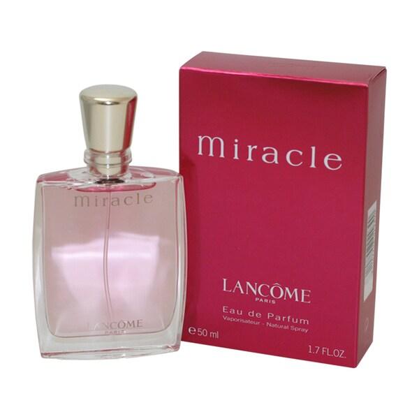 Lancome Miracle Women's 1.7-ounce Eau de Parfum Spray - Free ...