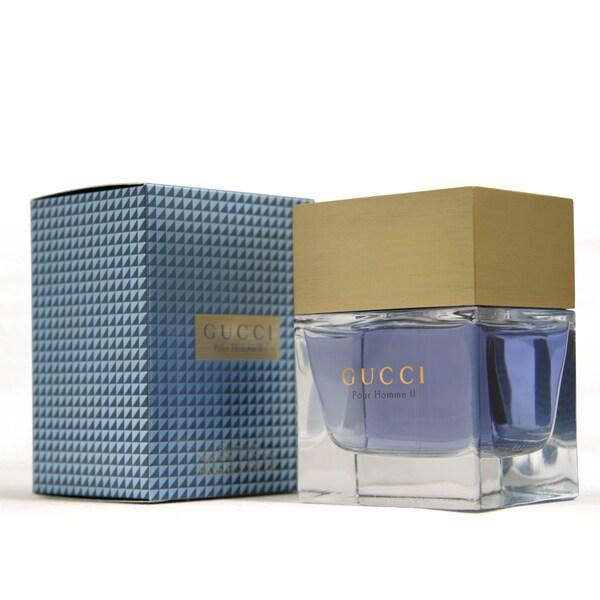 cd4116487 Shop Gucci Pour Homme II Men's 3.4-ounce Eau de Toilette Spray ...