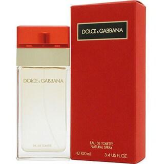 Dolce & Gabbana Women's 3.4-ounce Eau de Toilette Spray