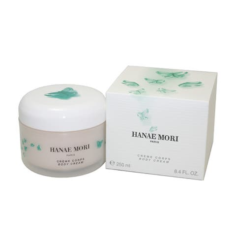 Hanae Mori By Hanae Mori For Women 8.4-ounce Body Cream - White