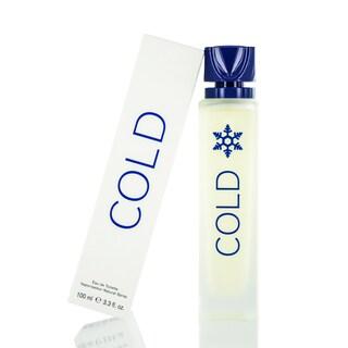 United Colors of Benetton Cold Men's 3.3-ounce Eau de Toilette Spray