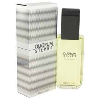 Antonio Puig Quorum Silver Men's 3.4-ounce Eau de Toilette Spray