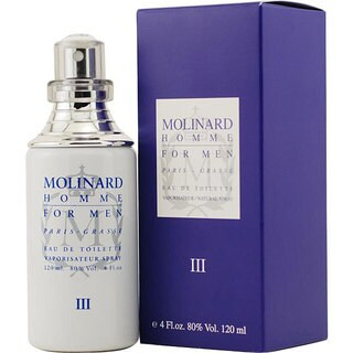 Molinard Homme III Men's 4-ounce Eau de Toilette Spray