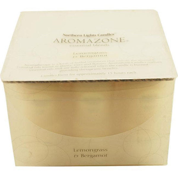 Lemongrass and Bergamot Essential Blend Votive Box Set