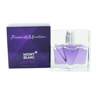 Mont Blanc Femme Women's 1.7-ounce Eau de Toilette Spray
