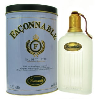Faconnable Men's 3.3-ounce Eau de Toilette Spray