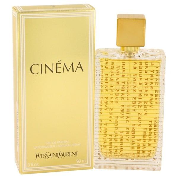 Shop Yves Saint Laurent Cinema Womens 3 Ounce Eau De Parfum Spray