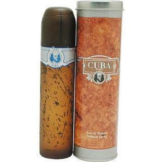 Cuba Blue Men's 3.4-ounce Eau de Toilette Natural Spray