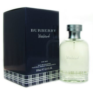 Burberry Weekend Men's 3.4-ounce Eau de Toilette Spray