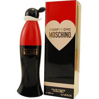 Moschino Cheap and Chic Women's 3.4-ounce Eau de Toilette Spray|https://ak1.ostkcdn.com/images/products/3543455/P11606058.jpg?impolicy=medium