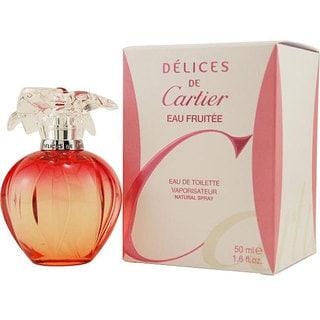 Delices de Cartier Eau Fruitee Women's 1.6-ounce Eau de Toilette Spray