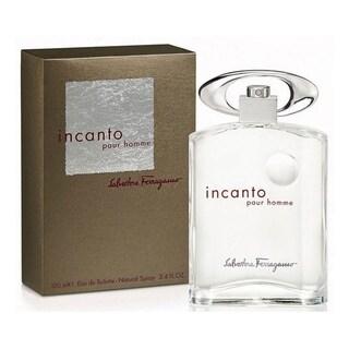 Salvatore Ferragamo Incanto Men's 3.4-ounce Eau de Toilette Spray