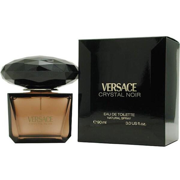 Shop Crystal Noir by Gianni Versace Women s 3-ounce Eau de Toilette ... 3e097679fbea8