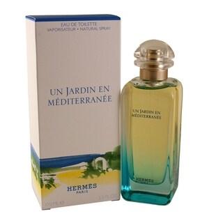 Hermes Un Jardin En Mediterranee Women's 3.4-ounce Eau de Toilette Spray