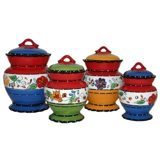 Viva Collection Deluxe 4-piece Canister Set
