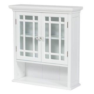 Stripe Wall Cabinet by Elegant Home Fashions