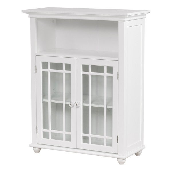 Stripe 2-door Floor Cabinet by Elegant Home Fashions