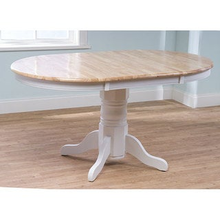 Simple Living Rubberwood Farmhouse Table