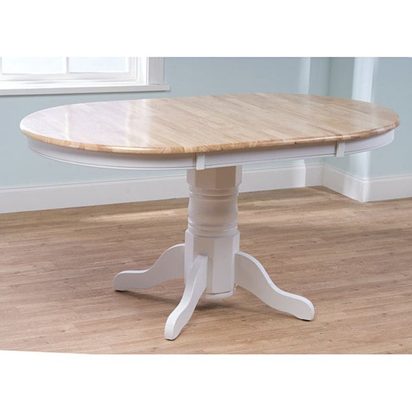 Shop Simple Living Rubberwood Farmhouse Table