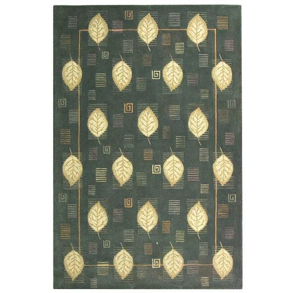 Shop Safavieh Handmade Berkeley Elisa Botanical Wool Rug