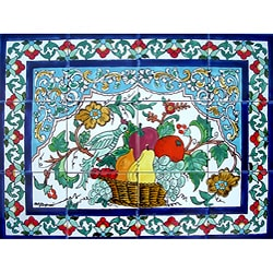 Mosaic Kitchen Backsplash 12-tile Ceramic Mural