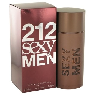 Carolina Herrera 212 Sexy Men's 3.4-ounce Eau de Toilette Spray