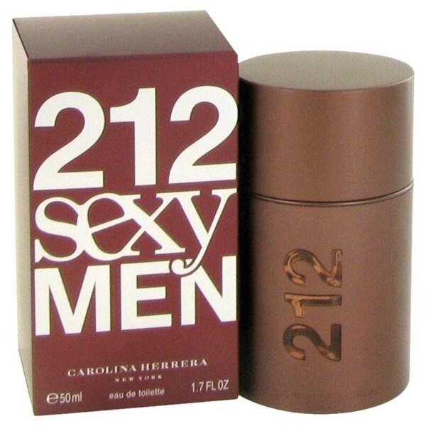 Carolina Herrera 212 Sexy Men Men's 1.7-ounce Eau de Toilette Spray