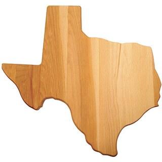 Texas-shaped Flat Grain Cutting Board