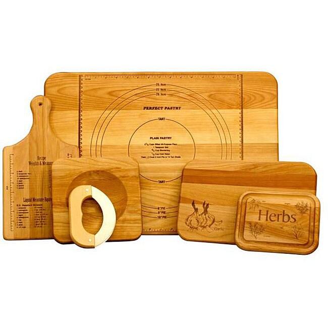 Unlitame Chef's 5-piece Cutting Board Set