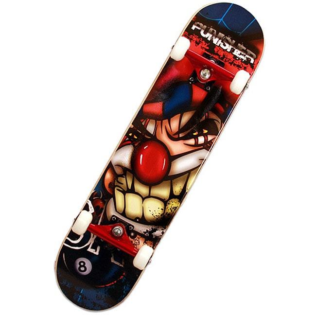 Punisher Jester ABEC-7 31-inch Complete Skateboard