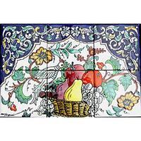 Fruit Basket 6 Tile Ceramic Kitchen Backsplash Mosaic Wall Mural