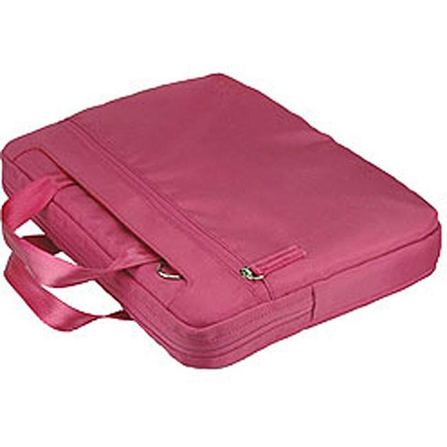 Pinder Bags Pink Nylon 15.4-inch Laptop Case