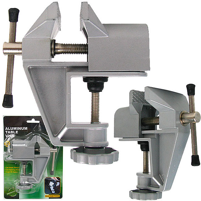 Professional Quality Aluminum Table Vice
