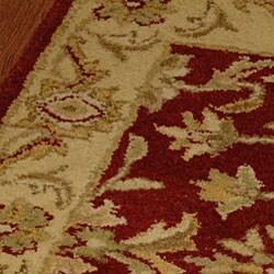 Safavieh Handmade Antiquities Jewel Red/ Ivory Wool Rug (2' x 3') - Thumbnail 1