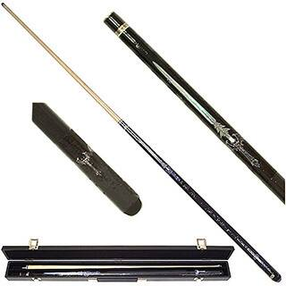 Blue Sword 2-piece Pool Cue with 6 Replacement Tips|https://ak1.ostkcdn.com/images/products/3555350/P11629255.jpg?impolicy=medium