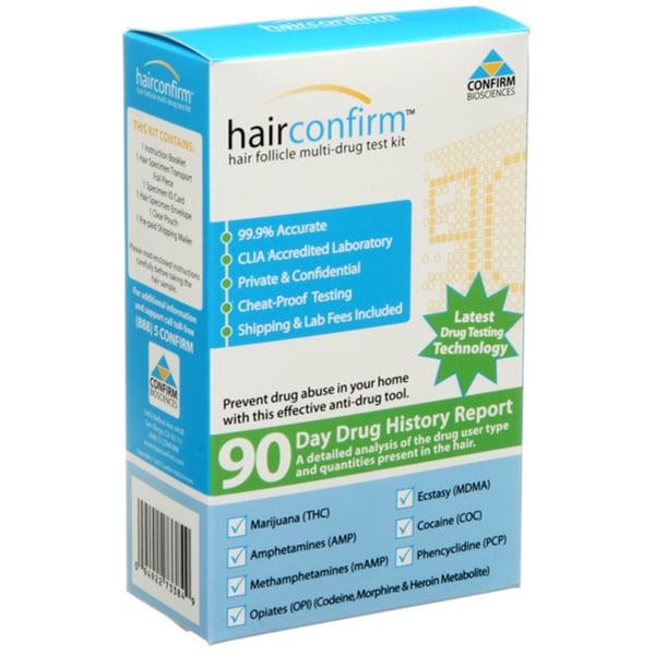 Hairconfirm Standard Hair Follicle Drug Test Kit
