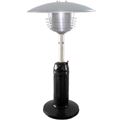 Black Stainless Steel Tabletop Patio Heater
