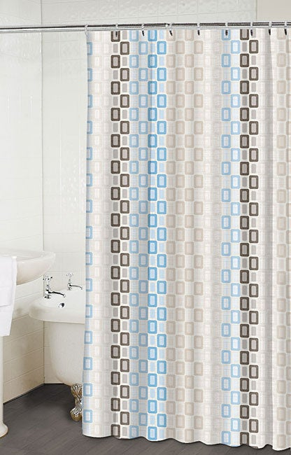 Tempo Linen Shower Curtain