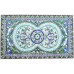 Architectural 'Ferdawas Design' 60-tile Ceramic Wall Art