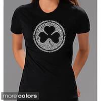 Los Angeles Pop Art Women's Irish T-shirt