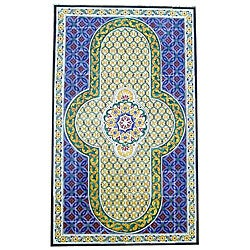 Architectural 'Baneh Design' 60-tile Ceramic Wall Art