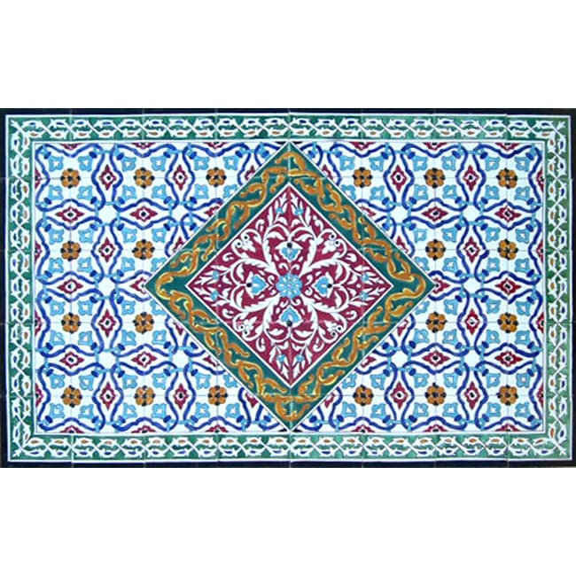 Shop Antique Looking Persian Area Rug Architectural \'Birjand Design ...