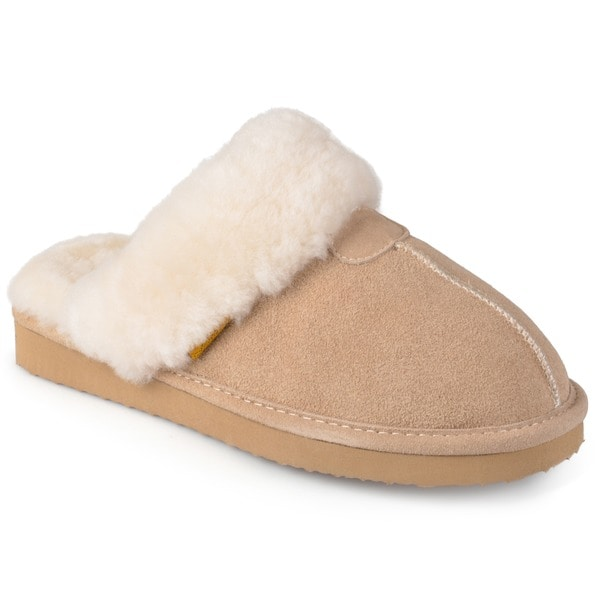 3649d6c73a0 Shop Brumby Women s Backless Sheepskin Slippers - Free Shipping ...