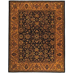 Safavieh Handmade Golden Jaipur Black/ Gold Wool Rug - 8'3 x 11' - Thumbnail 0