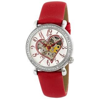 Stuhrling Original Women's Diamond Venus Skeleton Watch