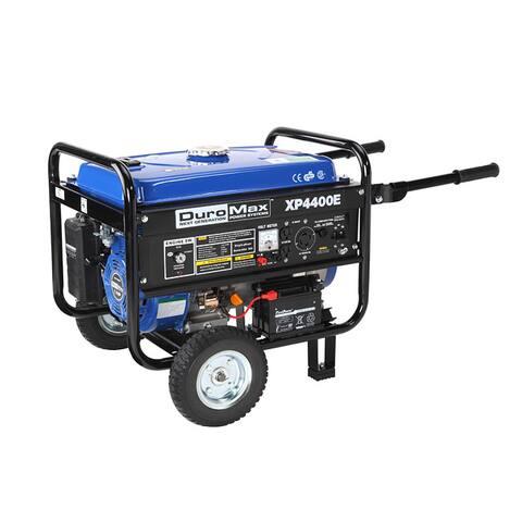 DuroMax 4400-watt 7HP Electric Start Generator